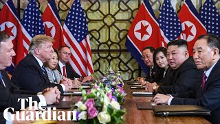 Trump-Kim nuclear talks in Hanoi break down