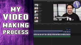 How I Make Videos for Youtube (from a Prince channel)
