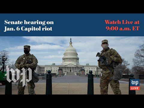 Senate hearing on Jan. 6 Capitol riot - 3/3 (FULL LIVE STREAM) - Washington Post