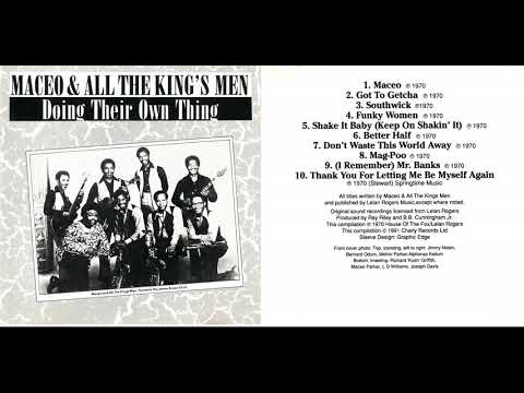 Maceo & All The King's Men - Doing Their Own Thing (Full Album) 1970