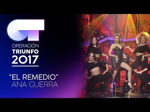 EL REMEDIO - Ana Guerra   OT 2017   Gala Eurovisión