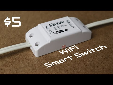 Sonoff - The $5 WiFi Smart Switch That's Compatible With Alexa And Google Home