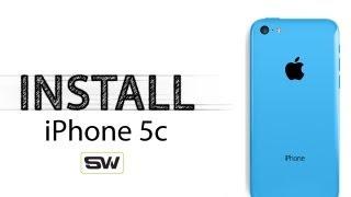 Slickwraps iPhone 5C Installation