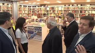 Lifschitz recorrió las obras de ampliación y mejoras del aeropuerto de Rosario