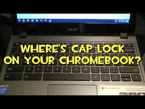 Where Is Caps Lock On My Google Chromebook?