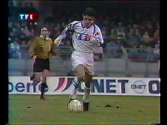 Auxerre   PSG  coupe de France 96