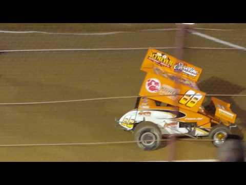 Racesaver sprint heats Hesston speedway 9/4/16