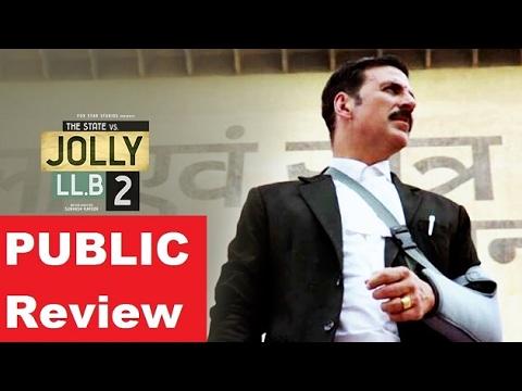 Jolly LLB 2 public review: Akshay Kumar gets a Thumbs-up
