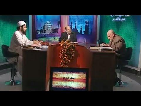 مناظرة نارية نادرة بين الشيخ ناصر رضوان و الشيعي أحمد راسم النفيس