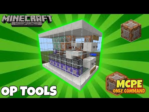 Overpowered Tools With Commands [Redstone] (1 1 0 1 Only