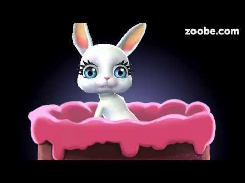 Зайка Zoobe С Днем Рождения - Смотреть видео без ограничений