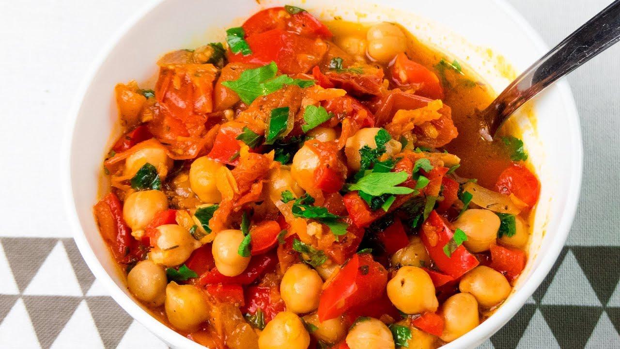 Cum să faci o mâncare delicioasă din năut – un preparat excelent pentru zilele de post! | SavurosTV