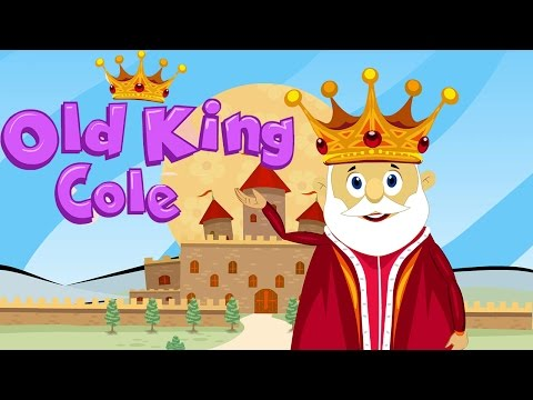 Old King Cole | Traditional Nursery Rhymes With English Subtitles