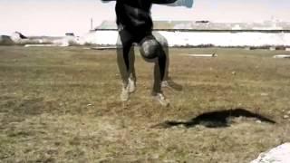 Как делать футбольный финт ''вокруг света''