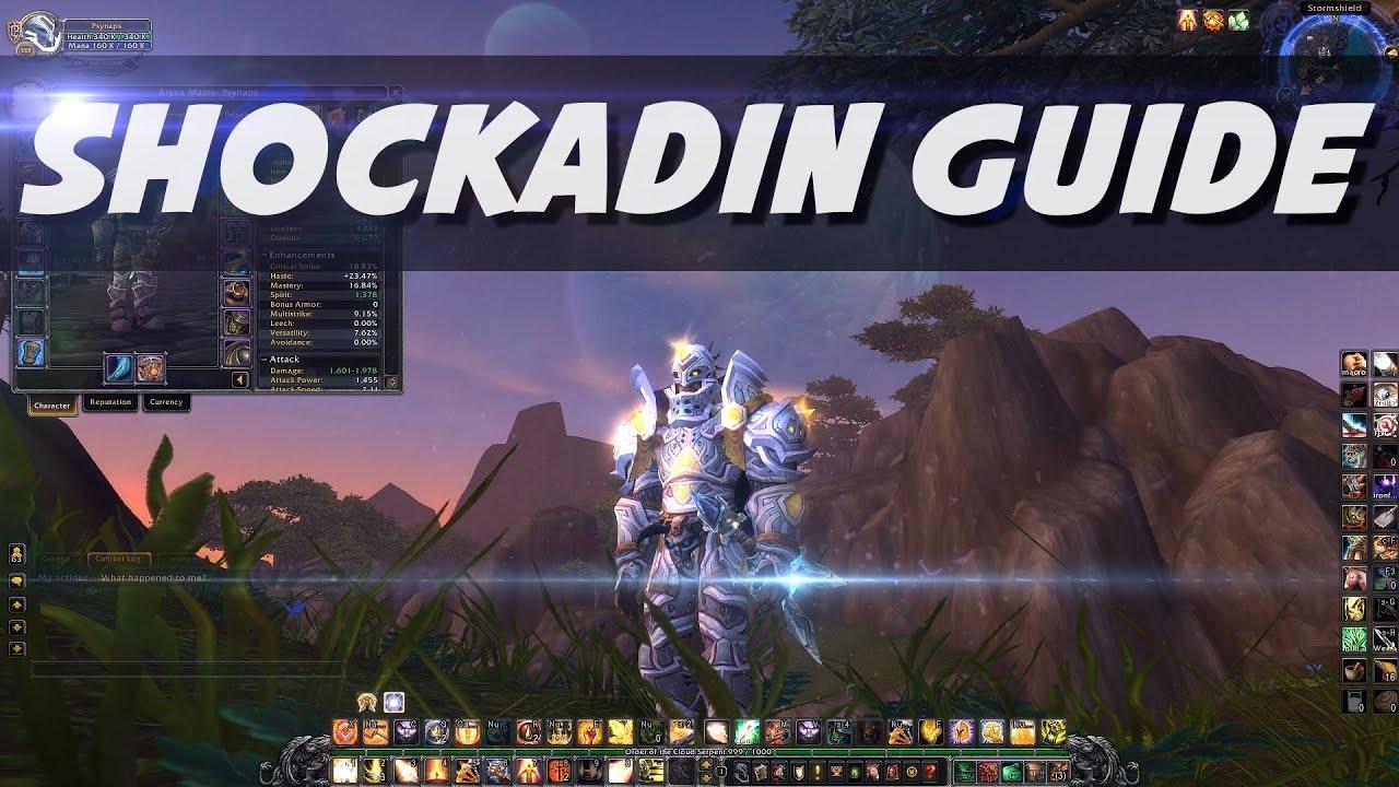 Shockadin Guide by Psynaps - Holy Paladin Shockadin WoD