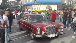 بالفيديو والصور: فلسطينيون يحيون يوم النكبة باستقلال حافلات قديمة تستحضر الذكرى