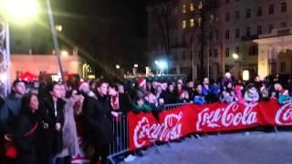 Rose May Alaba bei der Coca-Cola-Weihnachtstrucktour 2015