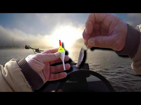 Crappie Fishing Live Minnow And Slip Bobber Setup