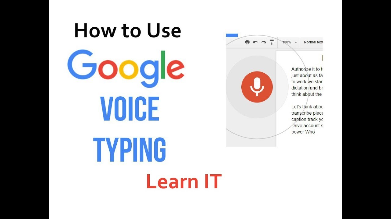 How to use voice typing in Laptop or PC using Google Docs