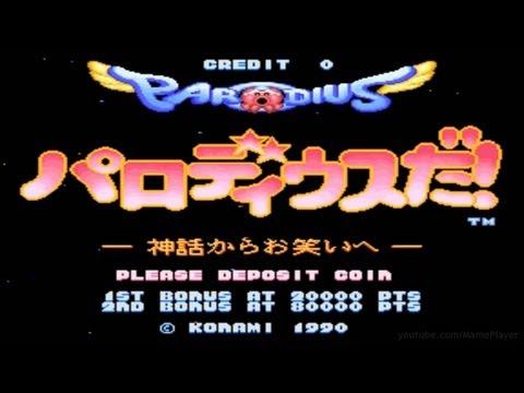 Parodius Da! (Octopus) 1990 Konami Mame Retro Arcade Games