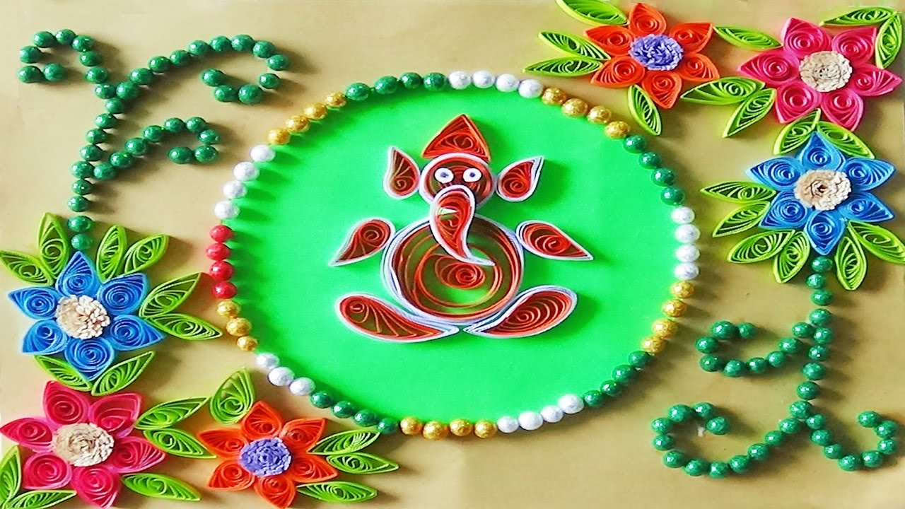 Quilling Artwork How To Make Paper Quilling Greeting