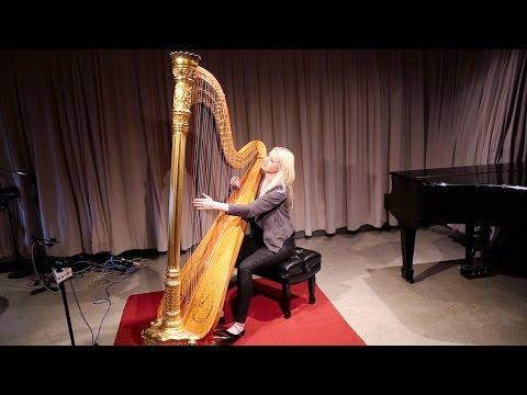 Harpist Claire Jones Plays 'Bluestone' in the WQXR Studio