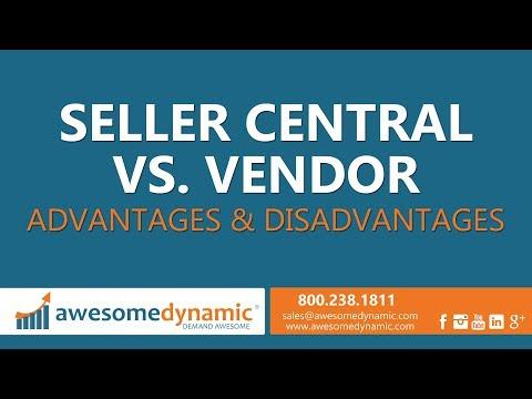 Amazon Seller Central vs. Vendor Central