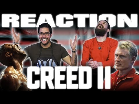 CREED II | Official Trailer 2 REACTION!!