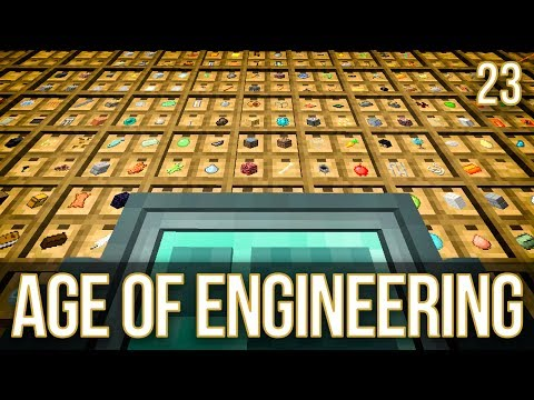 EnderIO Storage System | Age of Engineering | Episode 23