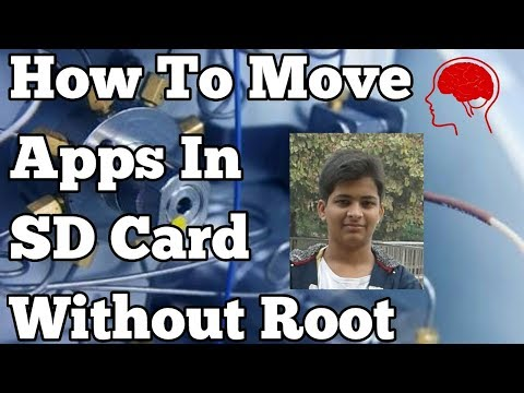 How to move Unmovable Apps into SD Card without ROOT