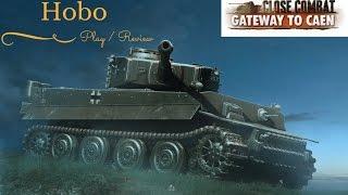 Close Combat : Gateway to Caen Gameplay Tiger vs Shermans