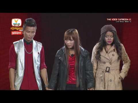 The Voice Cambodia - Result - Live Show 29 May 2016
