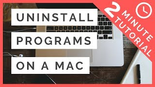 How To Uninstall Programs On a MAC