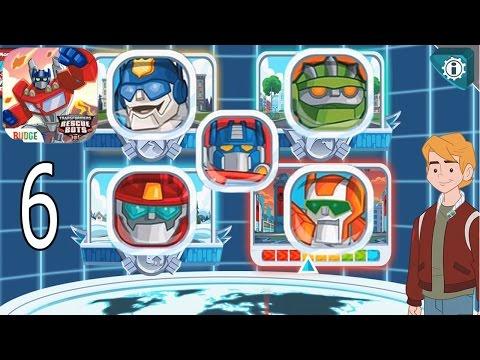 Transformers Rescue Bots: Disaster Dash Hero Run - IPhone Gameplay Walkthrough Part 6