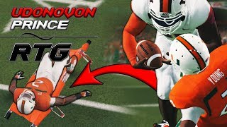 KNOCKED A DEFENDER OUT WITH A TRUCK! | NCAA 14 Running Back RTG Ep. 8