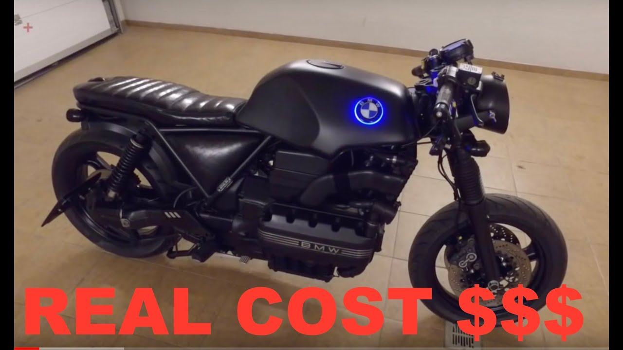 How much cost CAFE RACER BMW K100 ? REAL ANSWER