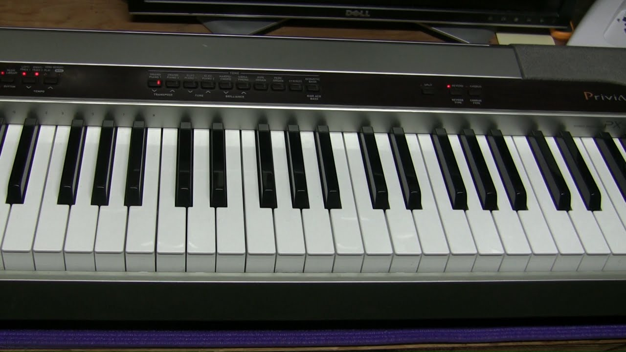 #14 - Casio Privia PX-110 digital piano repair