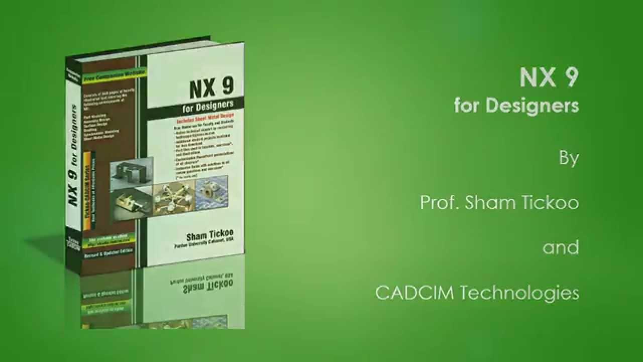 Nx 8.5 Tutorial Book