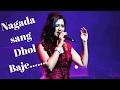Nagada Sang Dhol by Shreya Ghosal Live concert at Mumbai(Thane) 2017