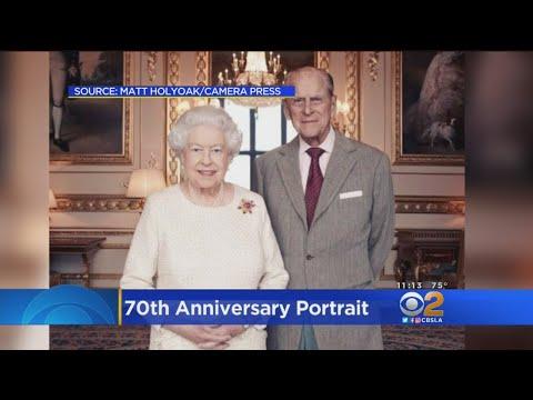 Queen Elizabeth, Prince Phillip Celebrate 70th Wedding Anniversary