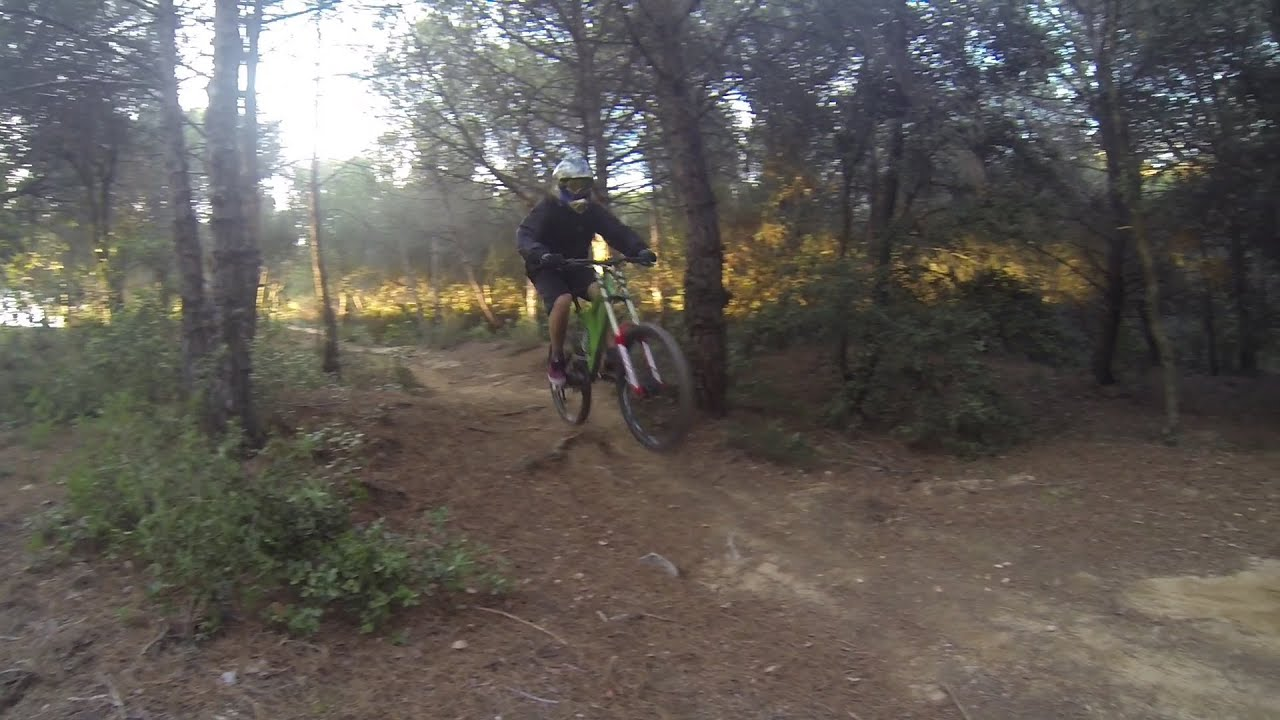 Downhill Track Biking Specialized Big Hit Lll Fsr Youtube