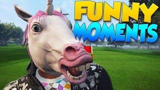 GTA 5 Funny Moments - HIDE AND SEEK CUSTOM GAME!