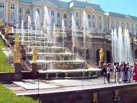 Петергоф Аллея фонтанов и Самсон 24.06.2013 МЛ