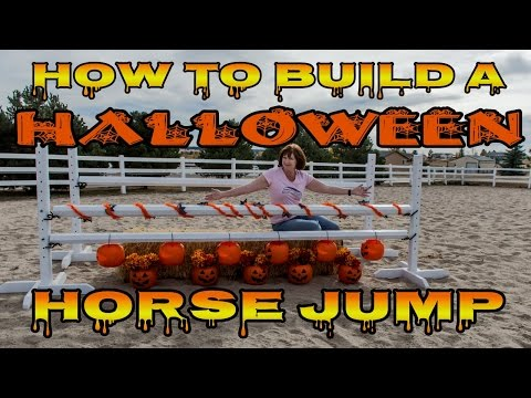 How to Make a Halloween Horse Jump