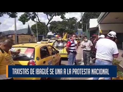 Taxistas de Ibagué se unirán a la protesta nacional del gremio que se realizará este miércolesBogotá