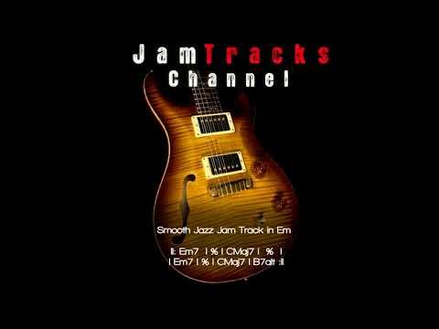 Smooth Jazz Guitar Backing Track - JamTracksChannel -