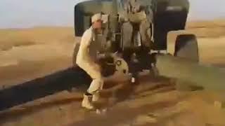 Работа российских артиллеристов в Сирии