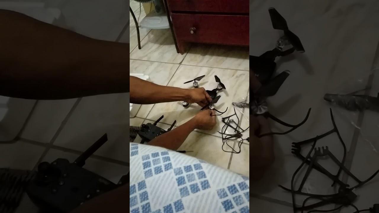 como funcionar o Drone HJHRC