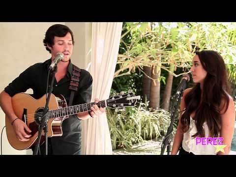 """Alex & Sierra - """"Little Do You Know"""" (Exclusive Perez Hilton Acoustic)"""