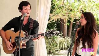 "Alex & Sierra - ""Little Do You Know"" (Exclusive Perez Hilton Acoustic)"